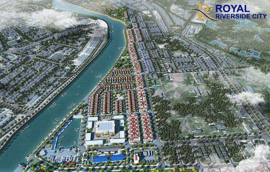 Phối cảnh dự ánRoyal Riverside City Móng Cái