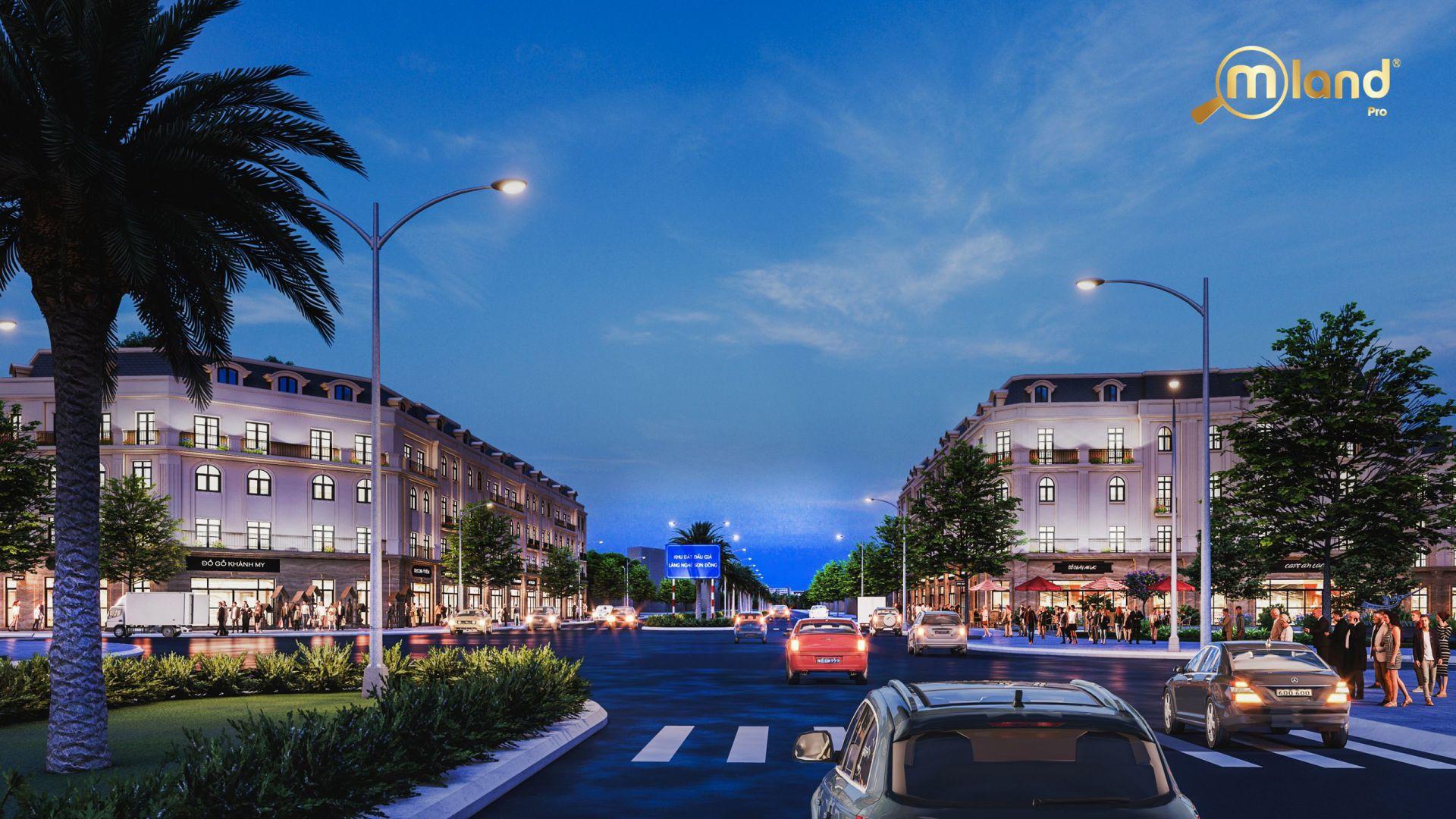 Phối cảnh dự ánSơn Đồng Center Sơn Đồng – Song Phương Hoài Đức