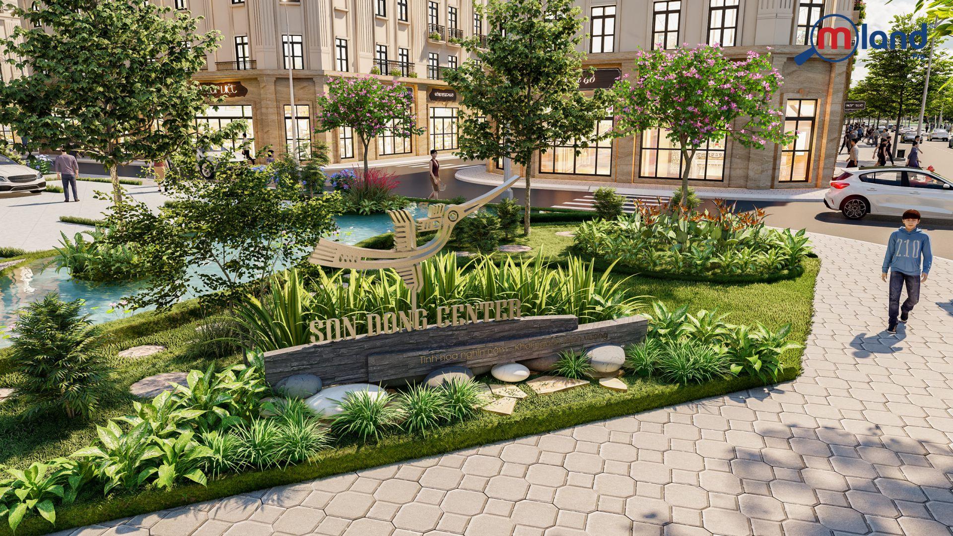 Phối cảnh dự án Sơn Đồng Center Hoài Đức